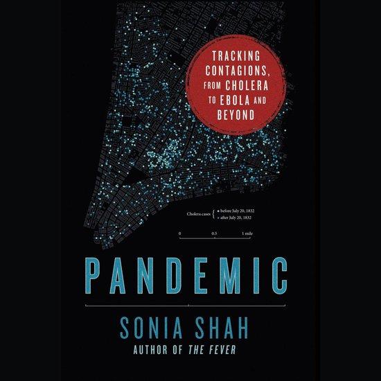 Boek cover Pandemic van Sonia Shah (Onbekend)