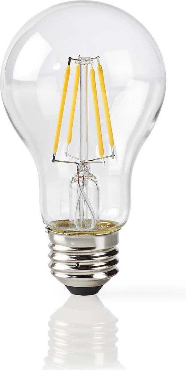 Dimabare Slimme Dimbare Filamentlamp   E27   500 lm   5 W   Wit / Warm Wit   2700 K   Glas   Energieklasse: A+   Smartphone App   Wi-Fi