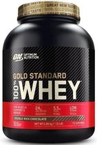 Optimum Nutrition - 100% Whey Gold Standard Protein - Double Chocolate- 2270 gram
