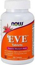 Now Foods Vitaminen EVE, multivitamine voor vrouwen (180 tabletten) - Now Foods