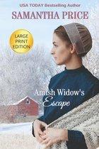Amish Widow's Escape LARGE PRINT