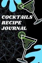 Cocktails Recipe Journal