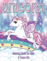 Unicorn Coloring Book for Kids 4 Years Old