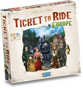 Ticket to Ride Europe 15th Anniversary - Bordspel