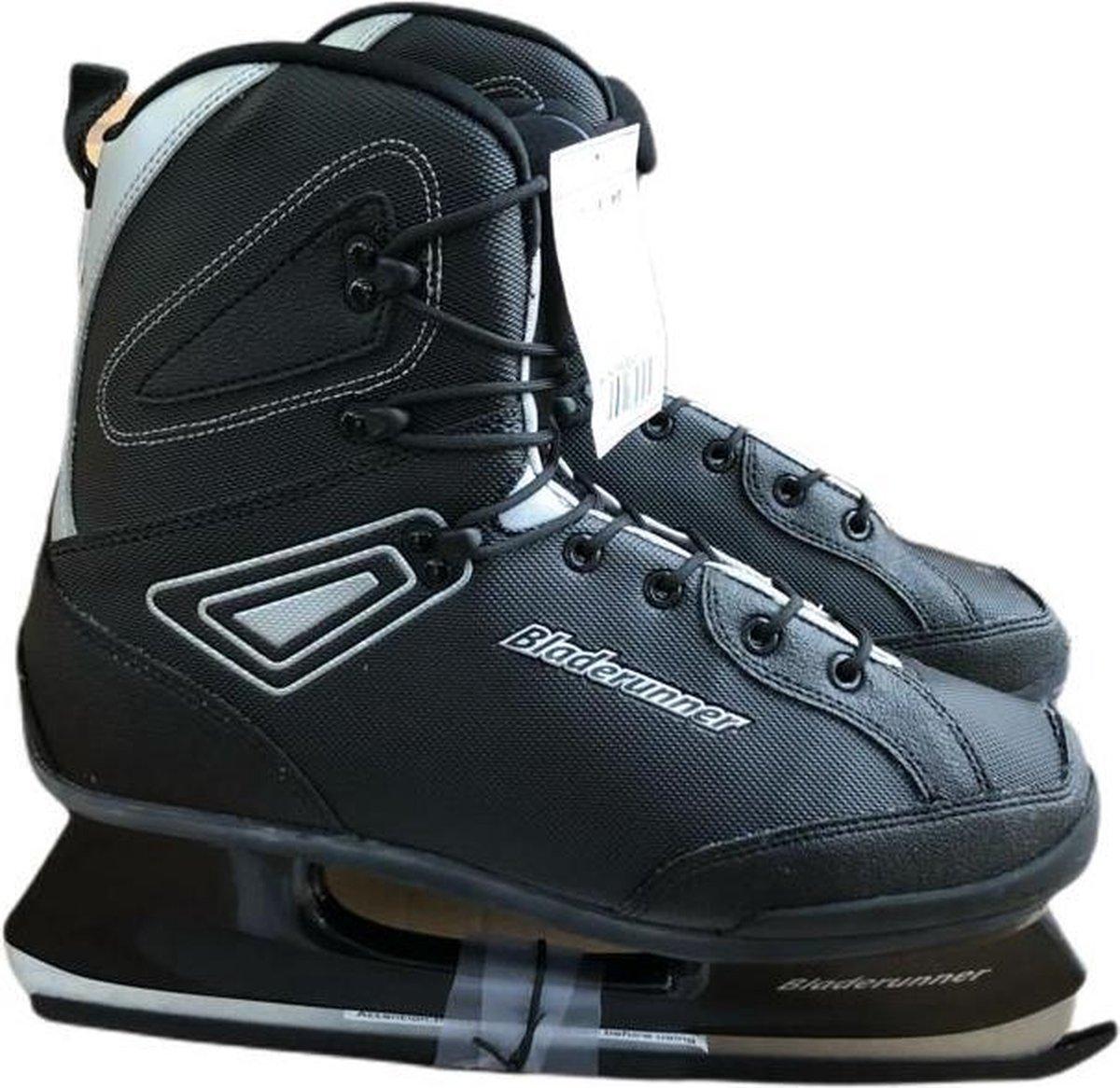 Bladerunner IJshockeyschaats - Hardboot - Zwart/grijs - Maat 45,5