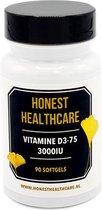 HONEST HEALTHCARE VITAMINE D3-75 3000iu