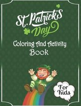 St. Patrick's Day Coloring And Activity Book For Kids