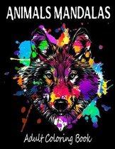 Animals Mandalas Adults Coloring Book