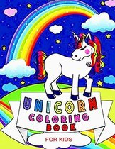 Unicorn coloring Book -for kids