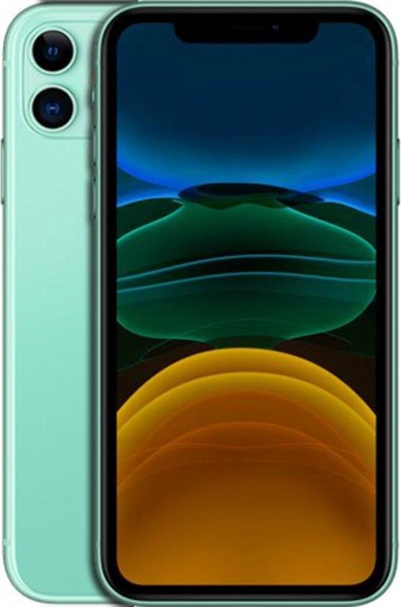 Apple iPhone 11 - Refurbished door Forza - C grade (Zichtbare gebruikssporen) - 64GB - Groen