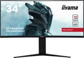 iiyama G-MASTER Red Eagle GB3466WQSU-B1 - Ultrawide Gaming Monitor - 144hz - 34 inch