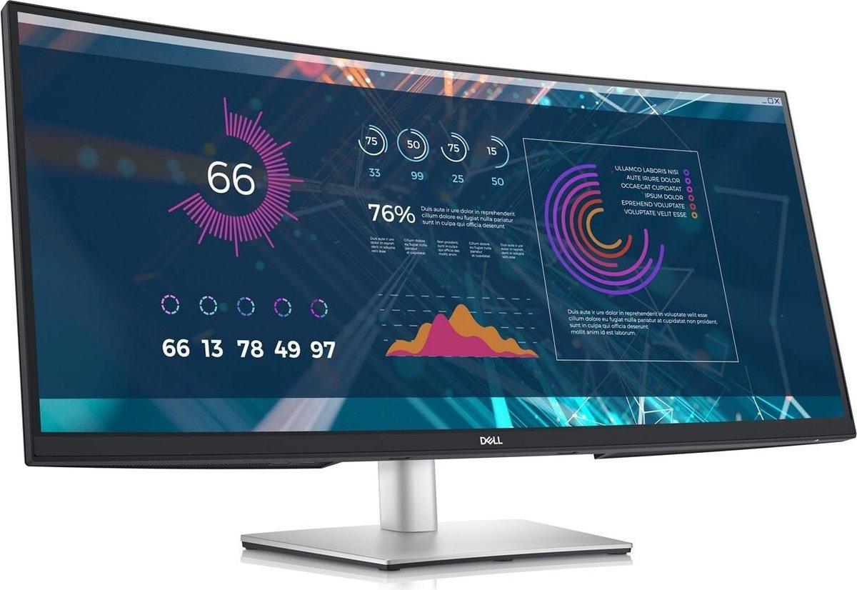 Dell P3421W – Ultrawide QHD USB-C Monitor – 65w – 34 inch