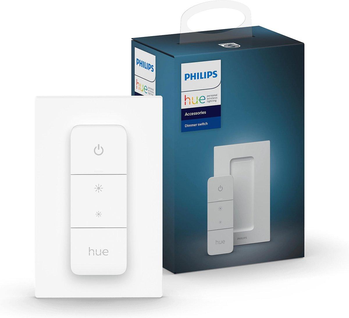 Philips Hue dimmer switch - draadloze schakelaar - Wit
