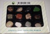 TeleShop4.eu Stones frome the world natuur stenen hangers