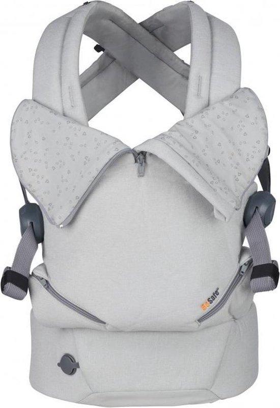 Be Safe Baby Draagzak Haven Stone Premium _ geschikt vanaf geboorte - ergonomische draagzak