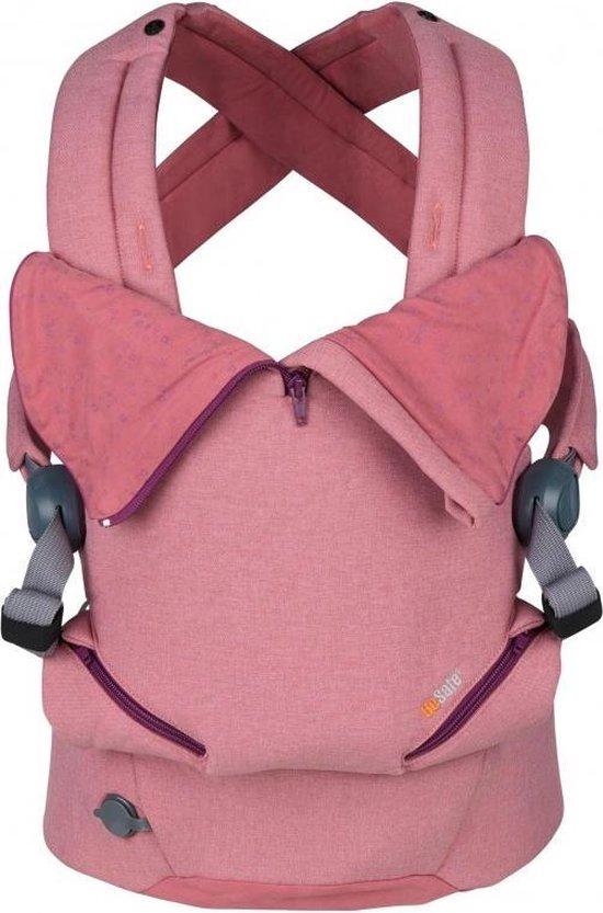 Be Safe Baby Draagzak Haven Haze Premium _ geschikt vanaf geboorte - ergonomische draagzak
