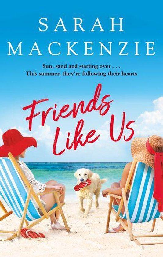 Boek cover Friends Like Us van Sarah MacKenzie (Onbekend)