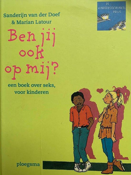 Boek cover Ben jij ook op mij? van Sanderijn van der Doef (Hardcover)