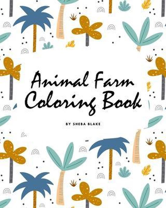 Animal Farm Coloring Book for Children (8x10 Coloring Book / Activity Book)