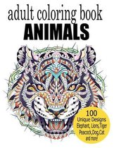 Adult Coloring Book Animal