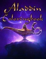 Aladdin Coloring Book
