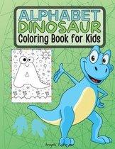Alphabet Dinosaur Coloring Book for Kids