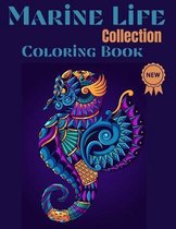 Marine life Collection Coloring Book