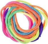 Rainbow Rope   Regenboog Touw   Vinger Touw   Gekleurde Touw   Vingerknoop Touwtjes