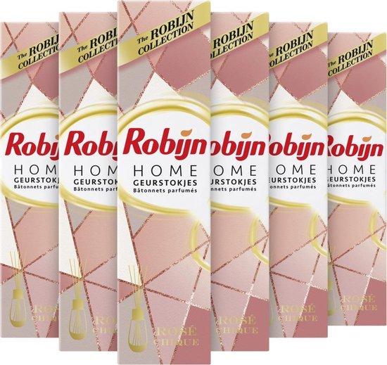 Robijn Geurstokje Rose Chic 6 stuks