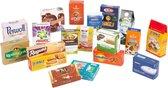 Merk artikelen opvouwbaar - 60 delig - Houten speelgoed vanaf 3 jaar