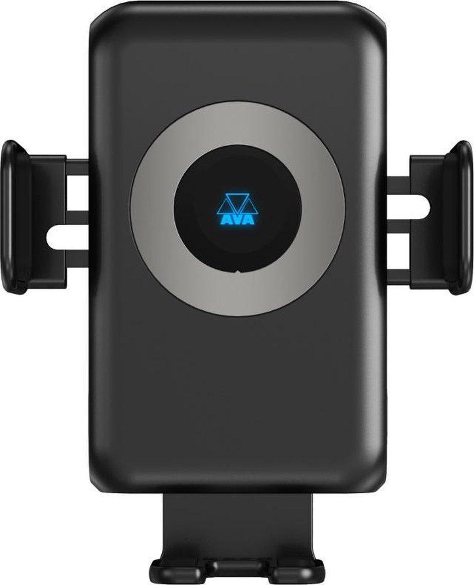 AVA Draadloze Telefoonhouder Auto - Draadloze Oplader Qi - Universeel - Automatische Infraroodsensor