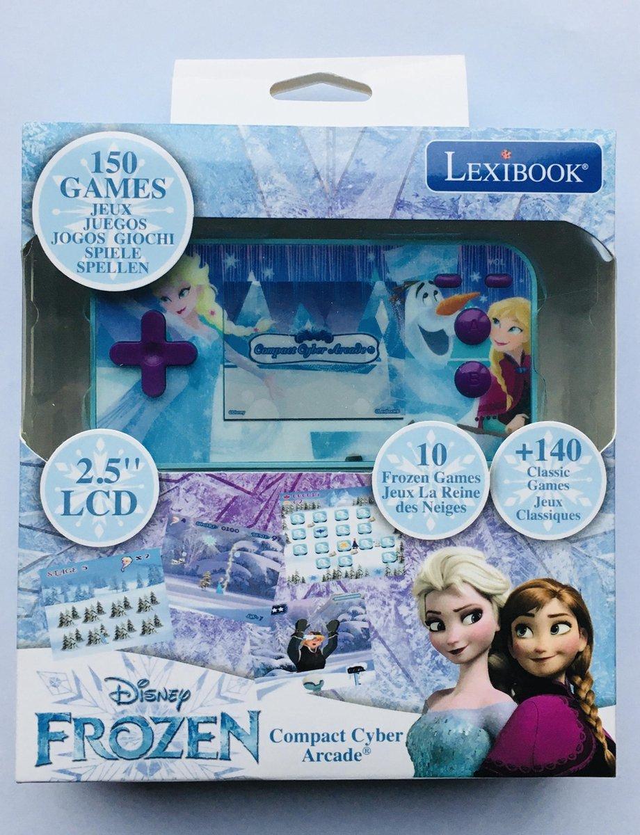 Lexibook Frozen Compact Cyber Arcade videogameconsole - Disney speelgoed - 150 cyber games - speelgo