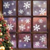 RX Goods® 240 Stickers Sneeuwvlokken Winter & Kerst Raam Decoratie – Kerstversiering voor Binnen - Sterren & Ijspegels