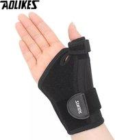 Duimbrace Links - flexibele spalk stabilisator met tegenkracht ondersteuning - voor elk duimformaat