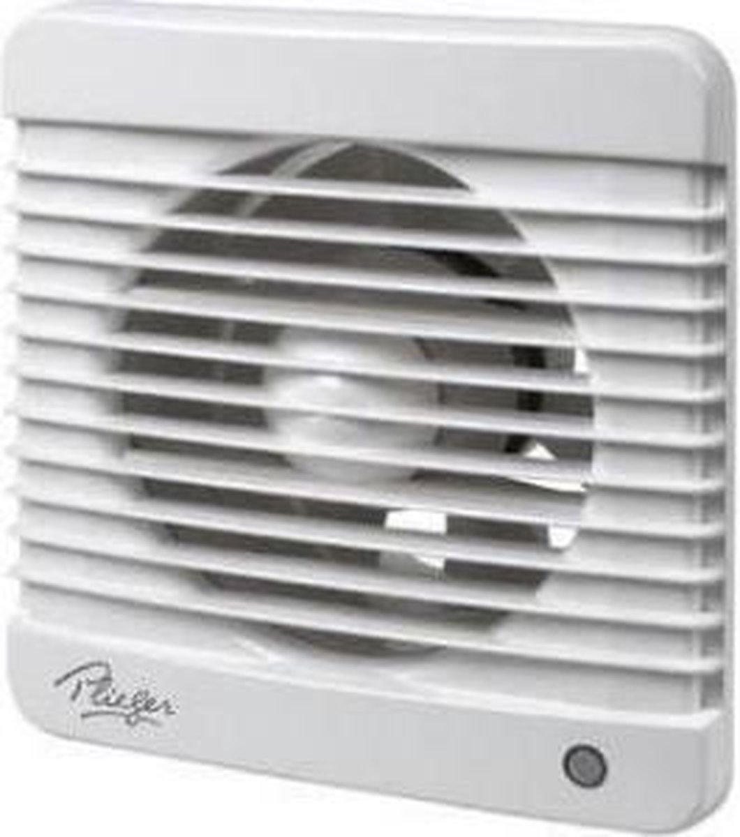 Bol Com Plieger Ventilator Met Timer 98 M X O 100 Mm Wit
