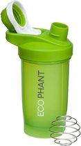 Ecophant Shakebeker 400ML - BPA Vrij - Proteïne Shaker – Shake Beker