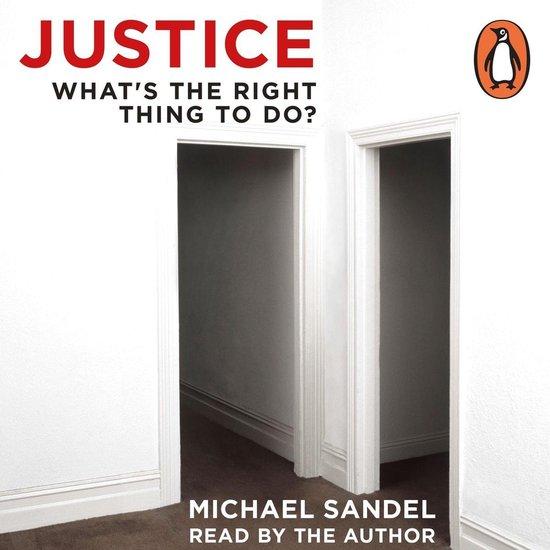 Boek cover Justice van Michael J. Sandel (Onbekend)