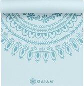 Gaiam Premium Marrakesh Yoga Mat - Blauw - 172 X 61 X 0.5 Cm