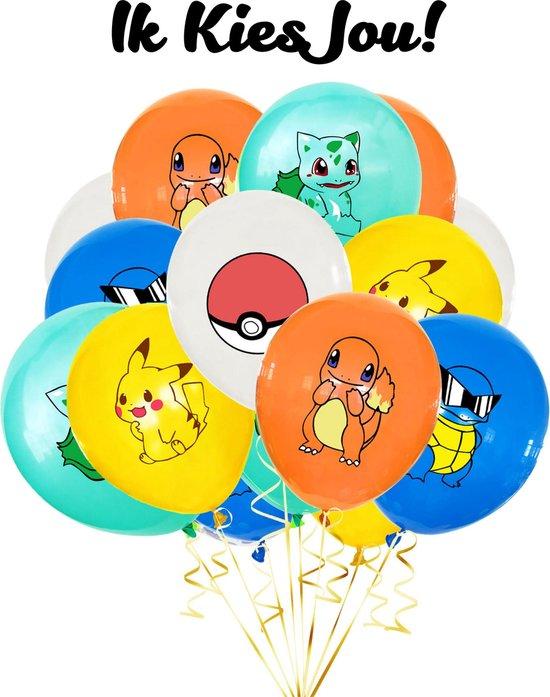 Pokemon Ballonnen - 10 Stuks - Pokemon Speelgoed - Ballonnen Verjaardag