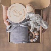 Babycadeaus - Baby cadeau meisje - baby cadeau jongen  - kraamcadeau -  kraampakket - Geboortegeschenk - babyshower cadeau - geboorte cadeaubox -  baby Bad set