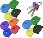 Sleutelhoesjes Silicoon 12 stuks - Sleutelkapjes - Sleutelbeschermers
