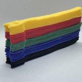BlueBirdz - Kabelbinders Klittenband 50 stuks - Klittenband Kabelbinder - Tie wraps - Cable Organizer