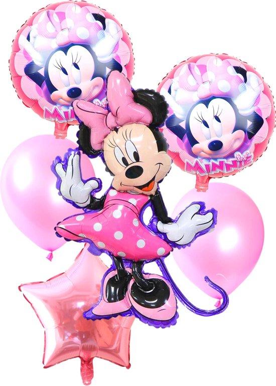 Minnie Mouse Ballonnen - Disney - Ballonnen Verjaardag - Helium Ballonnen - Folieballon - 8-Delig