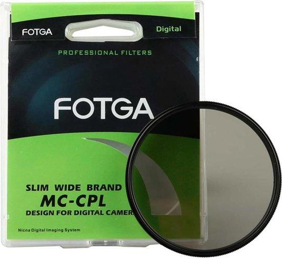 Fotga 58mm circulair polarisatiefilter CPL