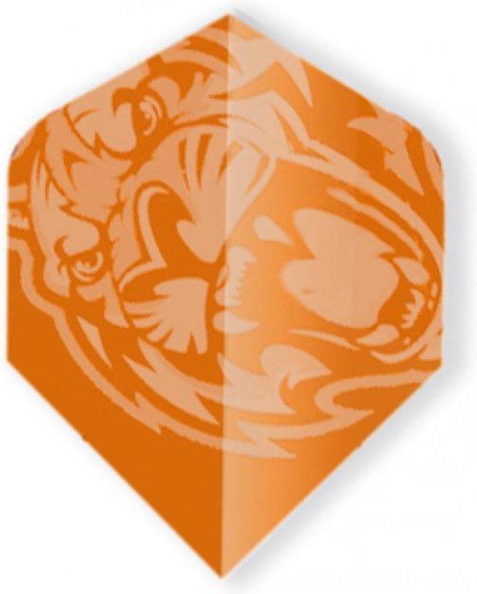 Unicorn Core 75 Micron Flights Plus - Lion 3 Stuks Oranje