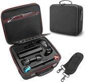 YONO Nintendo Switch Koffer – Case – Beschermhoes – Draagbare Opbergtas voor Console en Accessoires – Zwart