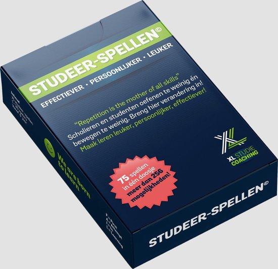 Afbeelding van het spel STUDEER SPELLEN - school / studie - leuker leren - leren oefenen - leren leren