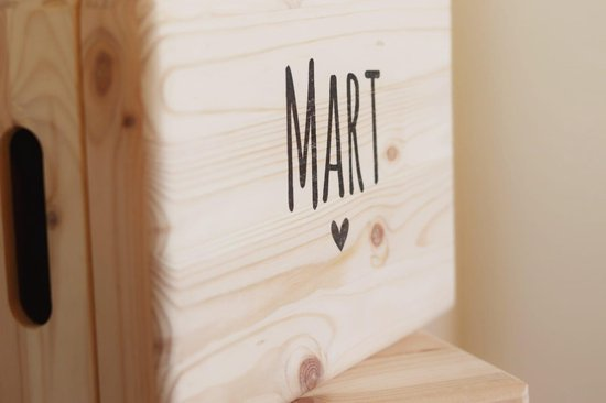 Gepersonaliseerde houten box