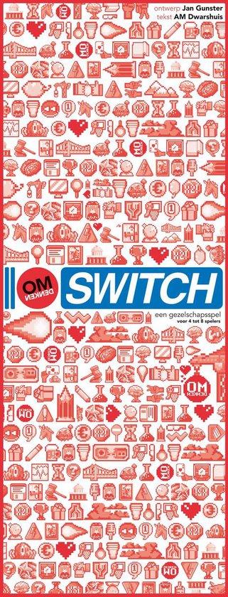 Boek cover Omdenken - Switch van Berthold Gunster (Onbekend)