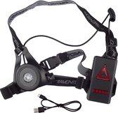 Avento Sport Borstlicht Hardlopen LED - Zwart